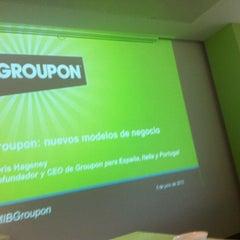 Photo taken at Groupon España by Juanjo S. on 6/5/2012