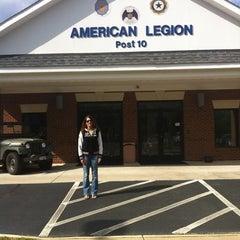 Photo taken at American Legion, Post 10 by Cheryl H. on 4/24/2012