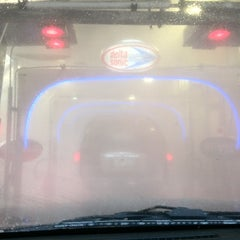 Photo taken at Delta Sonic Car Wash by Andrei on 6/22/2012