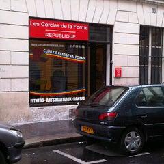 Photo taken at Les Cercles de la Forme by Sara B. on 8/6/2012