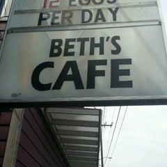 Photo taken at Beth's Café by Raymarr P. on 6/21/2012