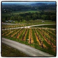 Photo taken at Bluemont Vineyard by Daniel S. on 4/21/2012