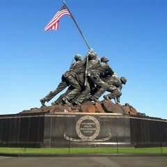 Photo taken at US Marine Corps War Memorial (Iwo Jima) by Phil C. on 9/13/2012