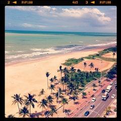 Photo taken at Praia do Pina by Antonio P. on 8/10/2012