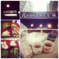 Photo taken at Radiance Tea House & Books by Irene L. on 3/18/2012