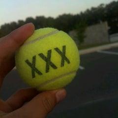Photo taken at Jonesville Tennis Center by Diego A. on 4/12/2012