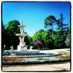 Photo taken at Campo del Moro by Damian D. on 8/24/2012