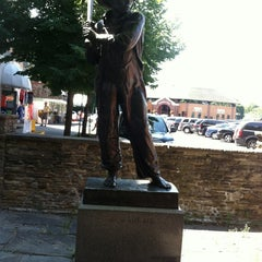 Photo taken at Main Street In Cooperstown, NY by Steven R. on 8/2/2012