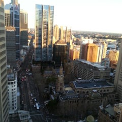 Photo taken at Hilton Sydney by Cam C. on 6/23/2012