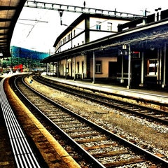 Photo taken at Bahnhof Olten by Lookzo B. on 6/10/2012