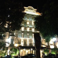 Photo taken at Hôtel Hermitage Monte-Carlo by Rinat S. on 8/18/2012
