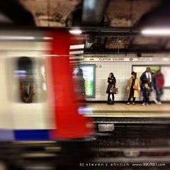 Photo taken at Euston Square London Underground Station by Steven E. on 5/20/2012