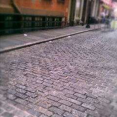 Photo taken at Stone Street by Q D. on 9/7/2012