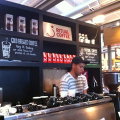 Photo taken at Ritual Coffee Roasters by Christy on 8/5/2012