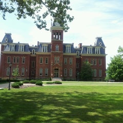 Photo taken at WVU Visitors Center by Brenda S. on 8/13/2012