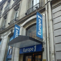 Photo taken at Europe 1 by Frédéric B. on 3/8/2012