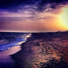 Photo taken at Platja del Prat by Rabasz ✪. on 8/23/2012