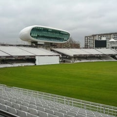 Photo taken at Lord's Cricket Ground (MCC) by Lourenco D. on 2/17/2012