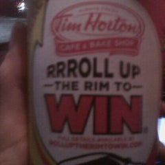 Photo taken at Tim Hortons by Tammy S. on 2/20/2012