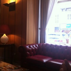 Photo taken at Atahotel Concord Hotel Turin by Rulla M. on 6/20/2012