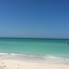 Photo taken at Coquina Beach by Lymari V. on 4/28/2012