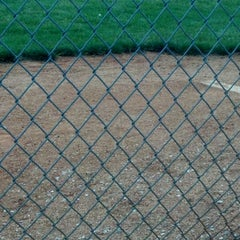 Photo taken at Russiaville Baseball Diamond by Jen G. on 5/12/2012