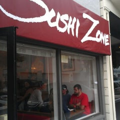 Photo taken at Sushi Zone by Jackie T. on 7/1/2012