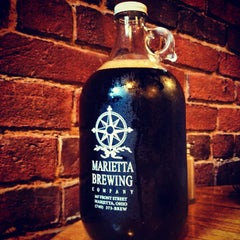 Photo taken at Marietta Brewing Company by Scott T. on 5/10/2012