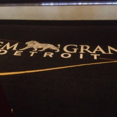 Photo taken at MGM Grand Detroit Casino & Hotel by Sonnypong on 7/20/2012