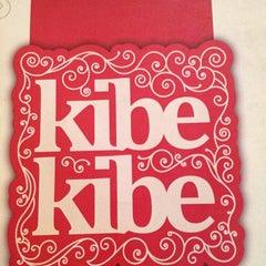 Photo taken at Kibe Kibe by Juliana Q. on 8/17/2012