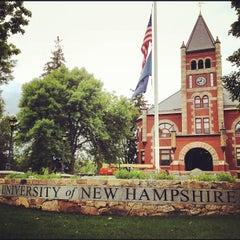 Photo taken at University of New Hampshire by Jason B. on 5/30/2012