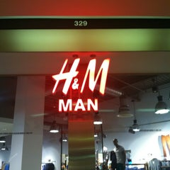 Photo taken at H&M by Patrick B. on 7/24/2012