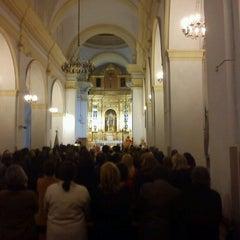 Photo taken at Iglesia Santa Maria del Reposo by Eduardo M. on 4/1/2012