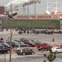 Photo taken at Toyota Park by Kendra T. on 5/12/2012