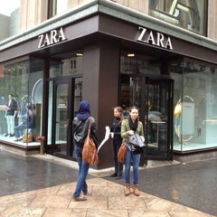 Photo taken at Zara by Carlos V. on 4/22/2012