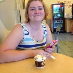 Photo taken at Marble Slab Creamery by Micah C. on 7/21/2012