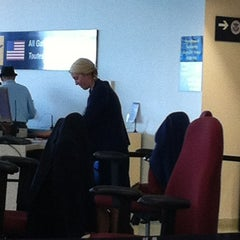 Photo taken at US Departures by Ashley G. on 9/4/2012