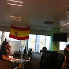 Photo taken at Groupon España by Jessica S. on 6/15/2012
