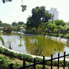 Photo taken at Parque Mariscal Castilla by Edgar P. on 4/2/2012