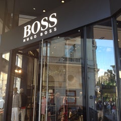 Photo taken at BOSS Store by Timofey R. on 7/21/2012