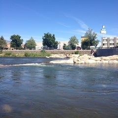 Photo taken at Truckee River by Cody R. on 5/20/2012
