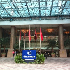 Photo taken at Sheraton Saigon Hotel & Towers by T0sh1h1k0 H. on 4/29/2012