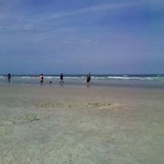 Photo taken at New Smyrna Lifeguard Station by Johanna A. on 3/30/2012