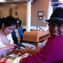 Photo taken at Ivy Nails by joselyn b. on 3/15/2012
