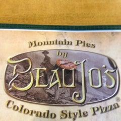 Photo taken at Beau Jo's Pizza by Justin K. on 2/27/2012