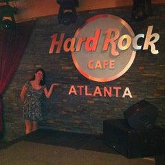 Photo taken at Hard Rock Cafe Atlanta by Thiago P. on 6/21/2012