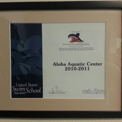 Photo taken at Aloha Aquatic Center by Antonio I. on 7/29/2012