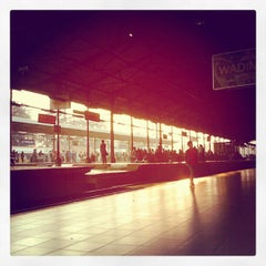 Photo taken at Stasiun Jatinegara by benny p. on 5/4/2012