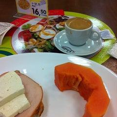 Photo taken at Supermercado Zona Sul by Roberta F. on 3/30/2012