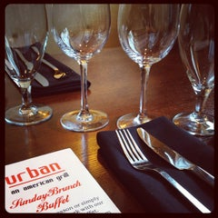 Photo taken at Urban an American Grill by Elizabeth S. on 6/24/2012